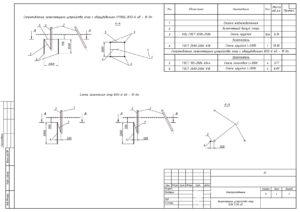 Рабочая документация - Электроснабжение изм. 2-16 17.08-006