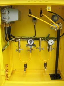 Установка газорегуляторная КИП