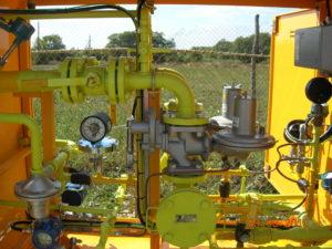 Рис.9 Установка газерегуляторная шкафная