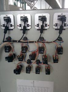 Индикация и кнопки управления шкафа электрического
