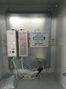 Шкаф учета расхода газа